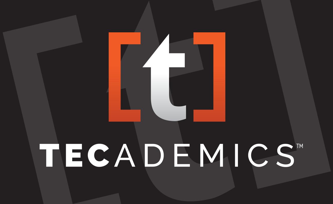 Tecademics Tactical Courseware logo