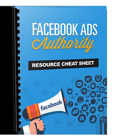 Facebook Advertising Resource Cheat Sheet